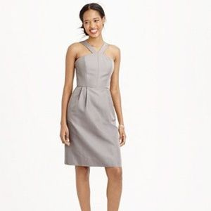 J Crew Faille Lexie Bridesmaid Dress
